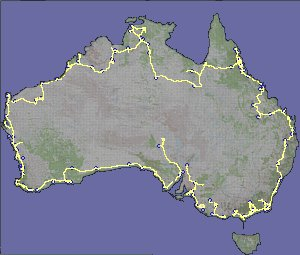 Our route around Australia