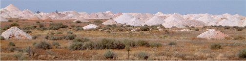 Coober Pedy Opal Mines