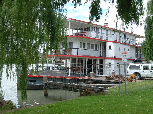 Murray Paddle Steamer