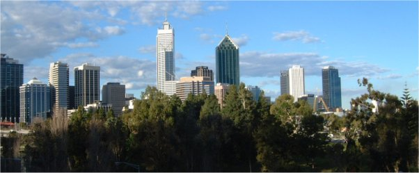 Perth from hotel