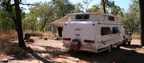 Camping at Undarra