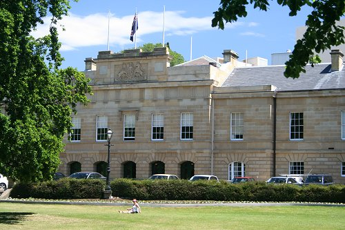 Parliment House, Hobart