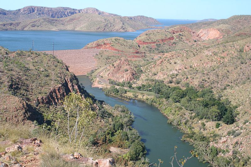 Lake Argyle Dam