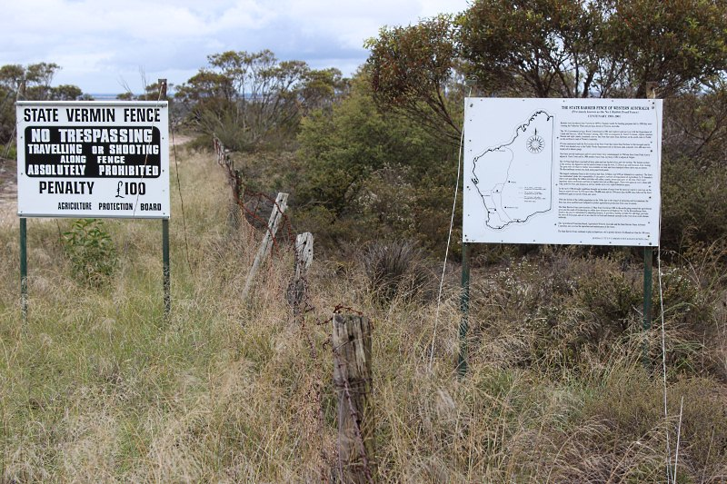 No1 rabbit proof fence