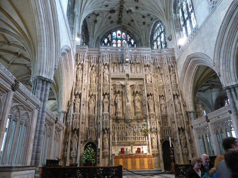 Winchester Cathedral Altar Screen